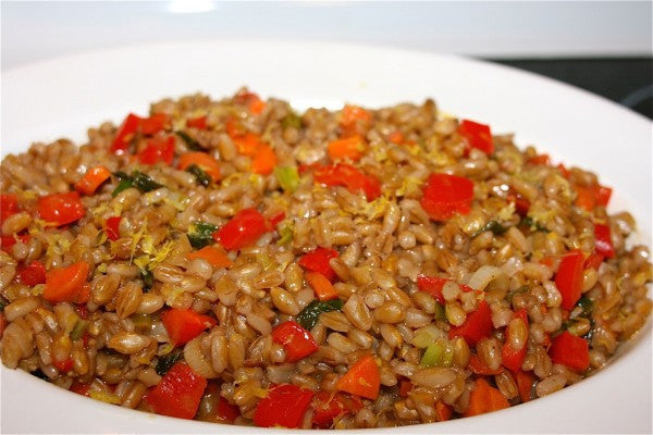 Garden Vegetable-Semolina Pilaf