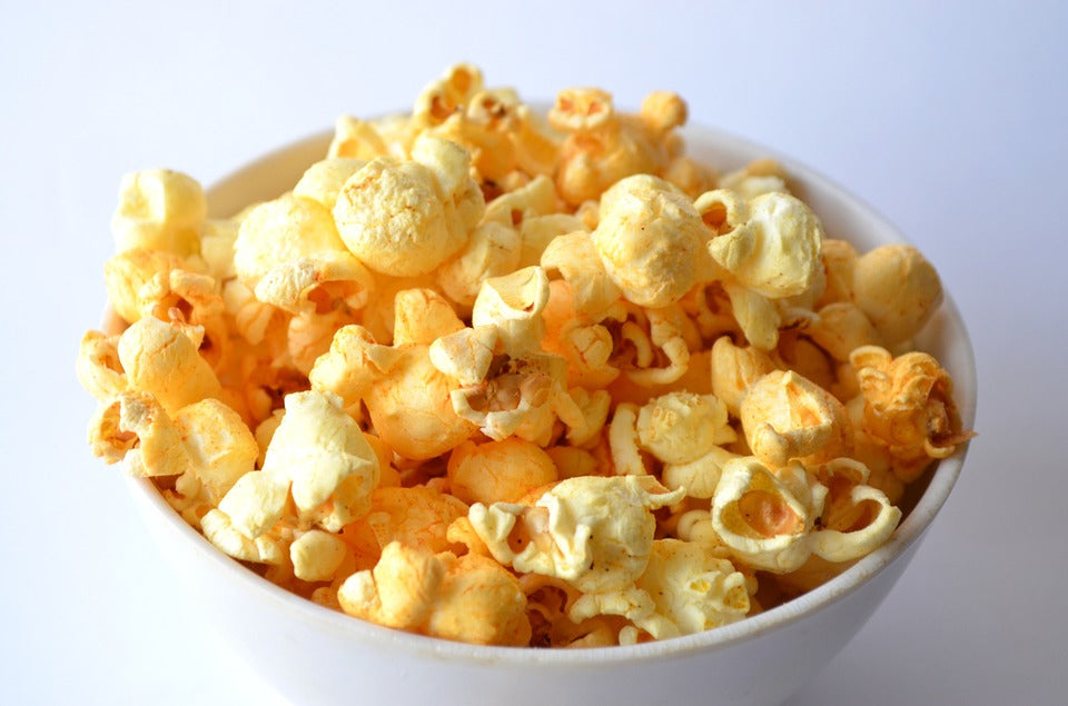 Healthy Olive Oil Popcorn