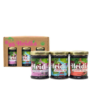 New Mexico Raspberry Jams 3-Pack Sampler