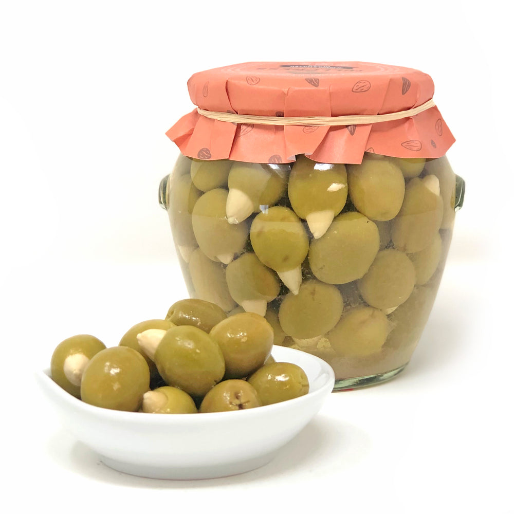 Almond Stuffed Olives