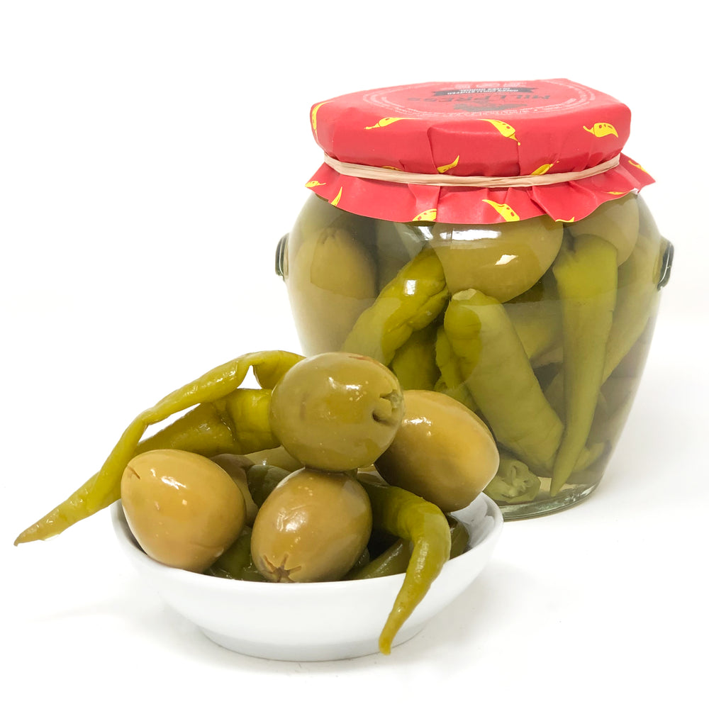 Green Chile Stuffed Olives
