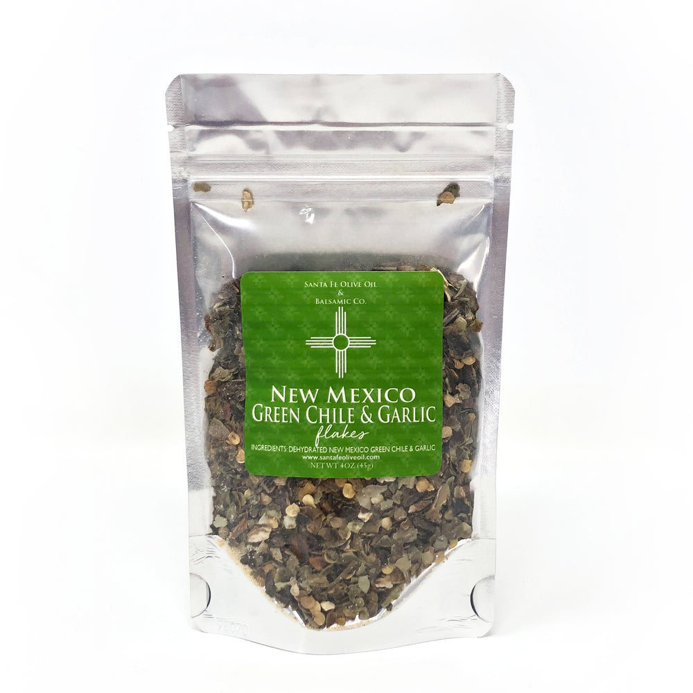 New Mexico Green Chile & Garlic Flakes (4oz)