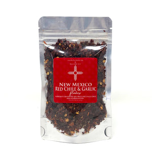New Mexico Red Chile & Garlic Flakes (4oz)