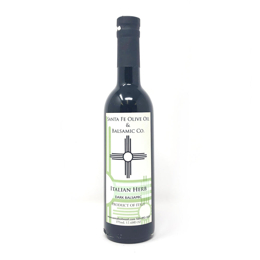 Santa Fe Olive Oil & Balsamic Co. New Mexico Italian Herb Dark Balsamic Vinegar