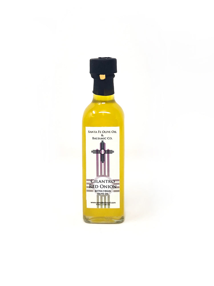 Santa Fe Olive Oil & Balsamic Co. New Mexico Cilantro Red Onion Extra Virgin Olive Oil