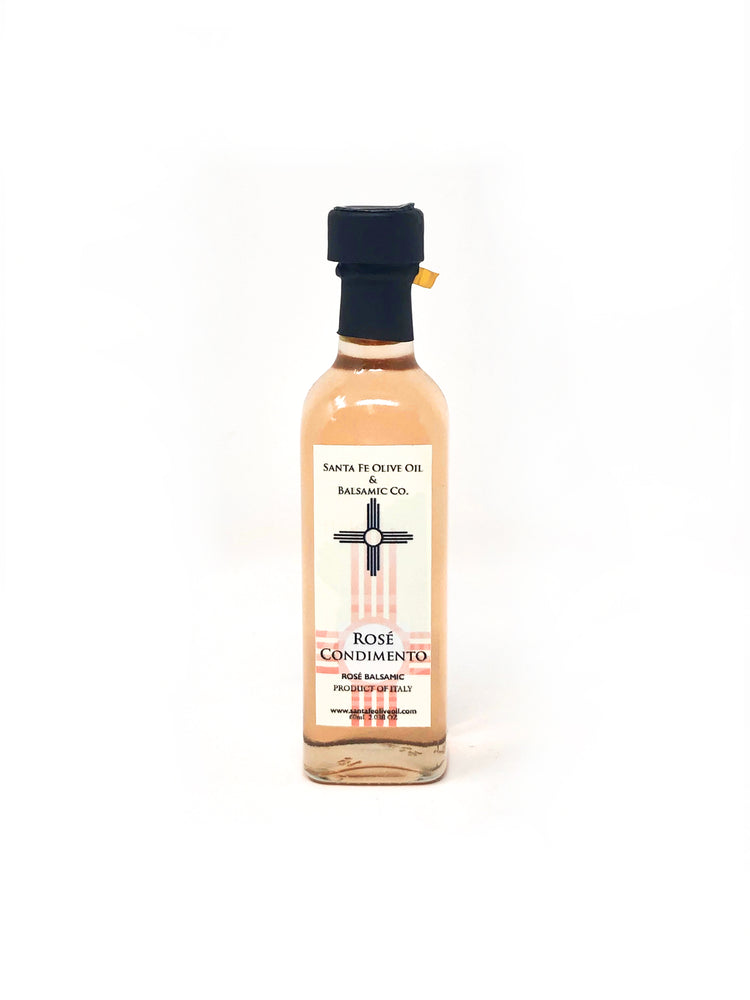 Santa Fe Olive Oil & Balsamic Co. New Mexico Rosé Condimento Vinegar Balsamic