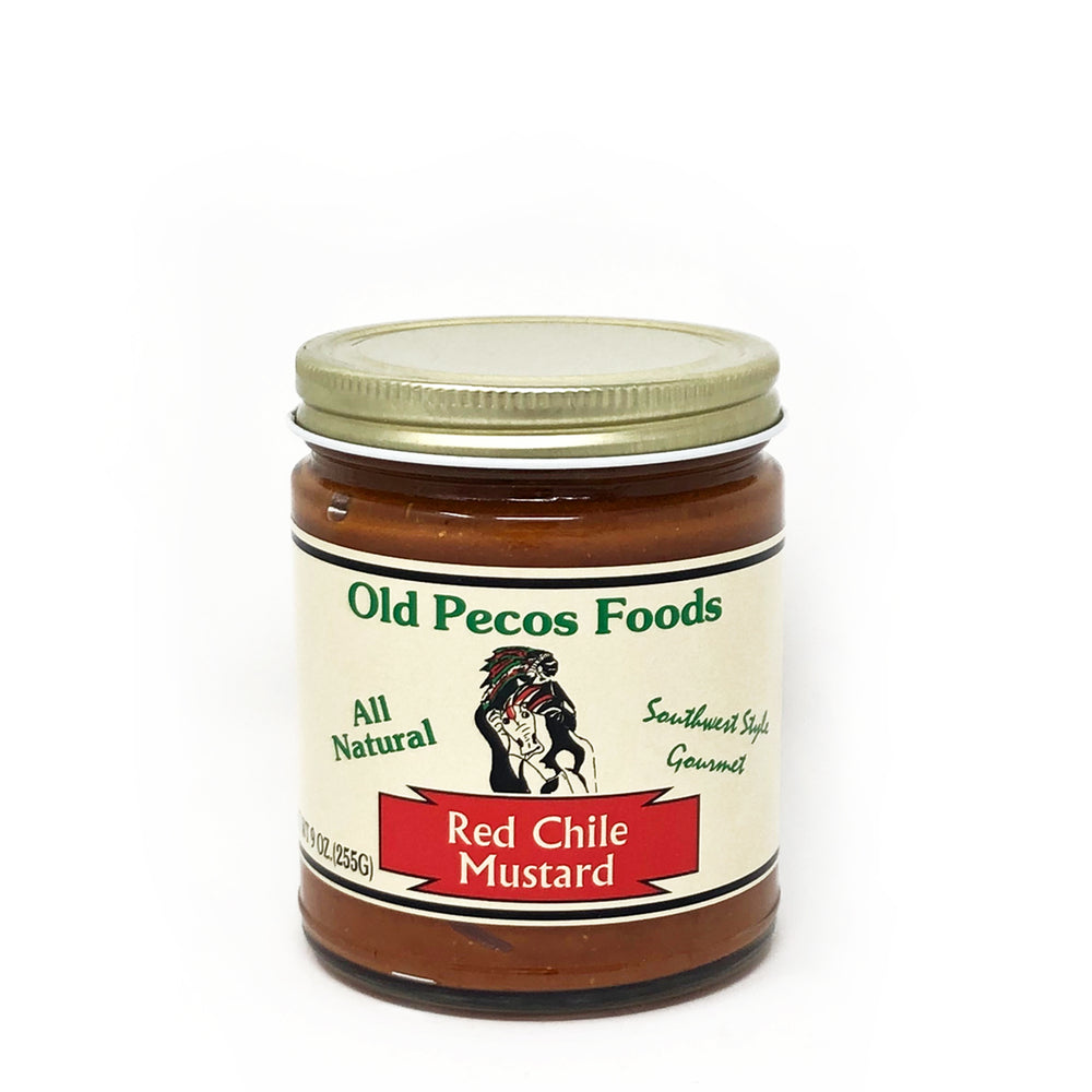 Santa Fe Olive Oil & Balsamic Co. New Mexico Red Chile Mustard Old Pecos Foods Gift