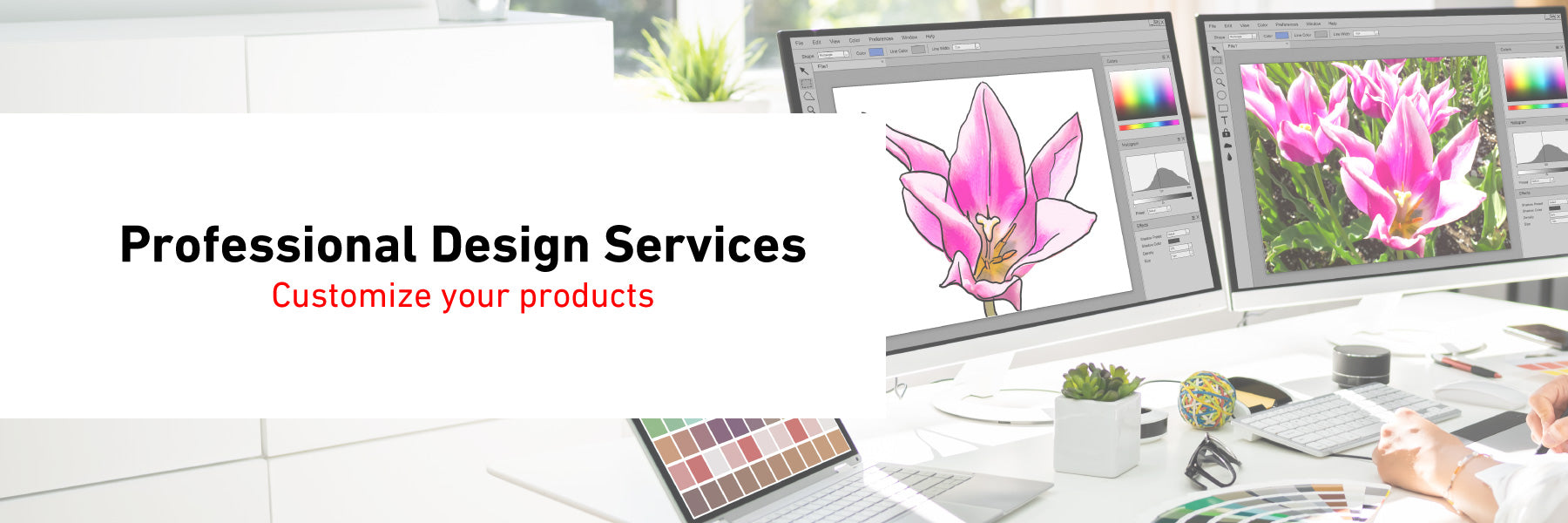 Professional Design Service.Customize your products