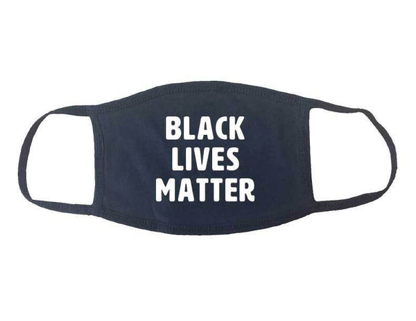 Black Lives Matter Face Mask - Made In USA