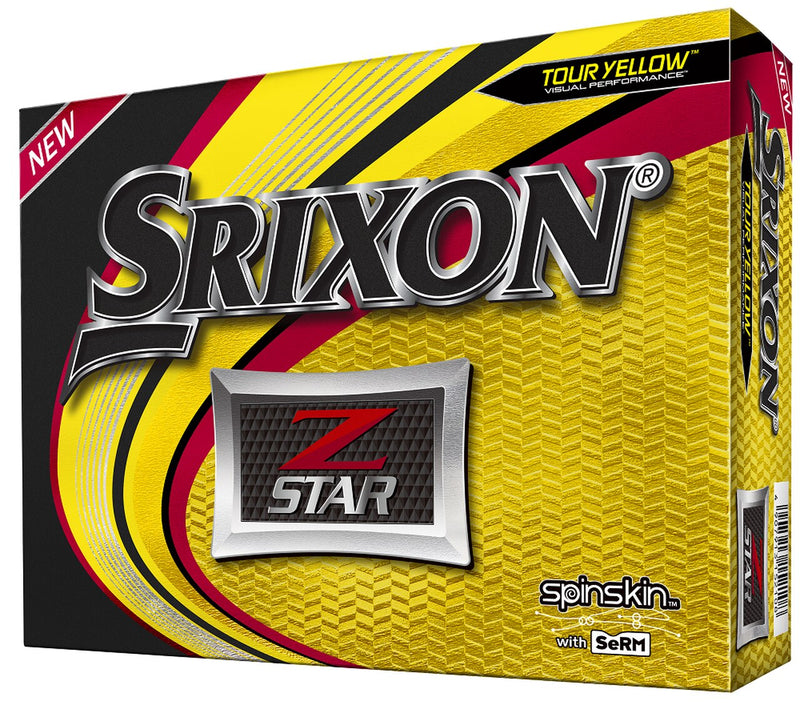 Srixon Z-Star Golf Balls LOGO ONLY - One Dozen