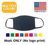 Multiple Colors Washable, Reusable Face Mask (Mask ONLY) 25 units~