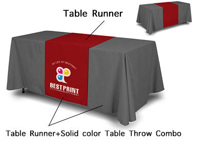 Table Throw and runner