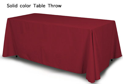 Plain Table Throw