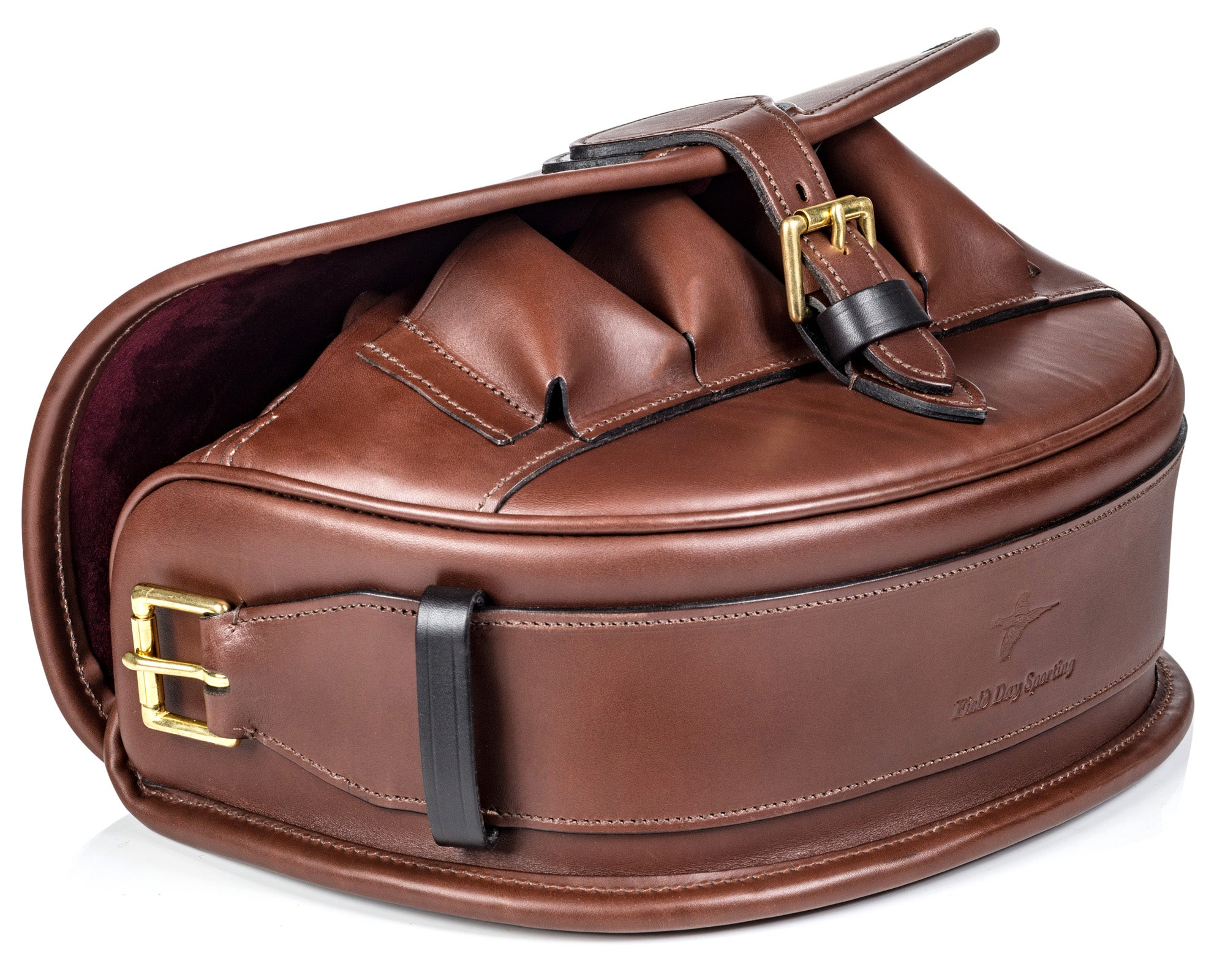 The Field Day Sporting Leather Front Loader Cartridge Bag