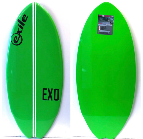 "Medium - 48"" Dude! Cruise - EX0 E-Glass Epoxy Skimboard"