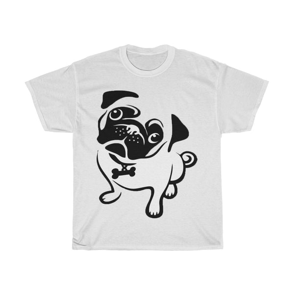 Cute Pug Cotton Tee