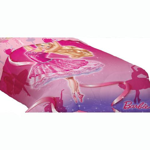 Barbie Ballet Twin Comforter Ballerina Dancing Bedding