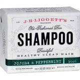 J.R. Liggett's Old-Fashioned Bar Shampoo Jojoba and Peppermint - 3.5 oz
