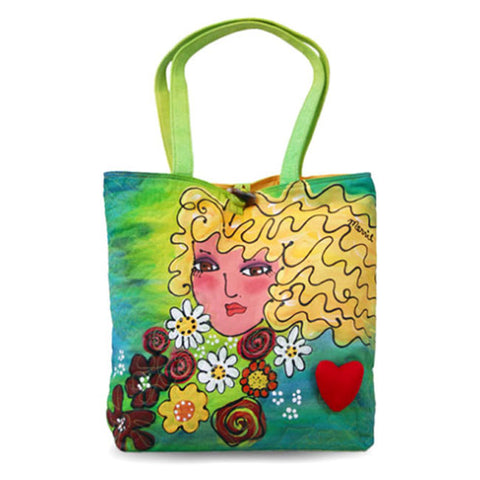 BrightFaces Blond Large Tote Bag