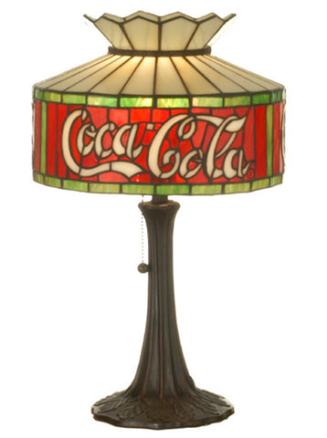"Meyda 20""""H Coca-Cola Accent Lamp"