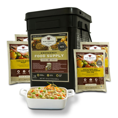 60 Serving Entree Only Grab and Go Food Kit