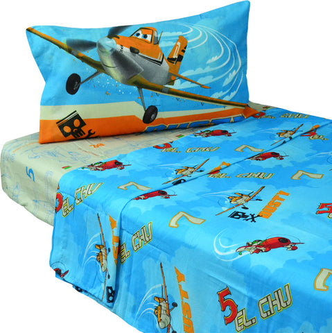 10 Disney Planes Twin Bed Sheet Sets Dusty Crophopper Bedding Accessories