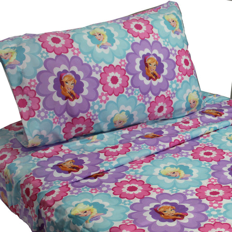 10 Disney Frozen Twin Bed Sheet Sets Elsa and Anna Floral Bedding Accessories