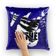 Panther Spirit Sequin Cushion Cover