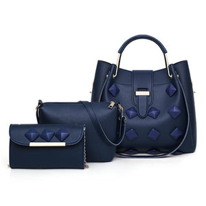 Multi-piece Patterned Handbag set