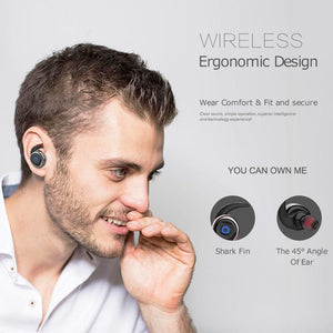 AWEI Bluetooth Double Wireless Earbuds V4.2 Headset