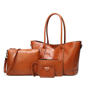 Fashion Four-piece Matching Handbag Set