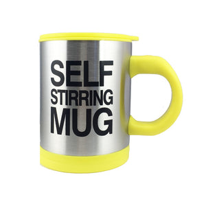 13.5oz Stainless Steel Self Stirring Mug with Lid