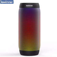 Lewinner Waterproof LED Portable Wireless Bluetooth Speaker BQ-615