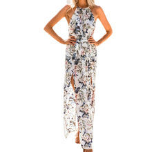 Bohemian Style Women's Long Dress Summer Print Beach Dress