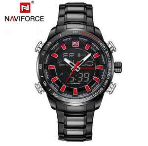 NAVIFORCE Men's Waterproof Quartz Sport Wristwatch