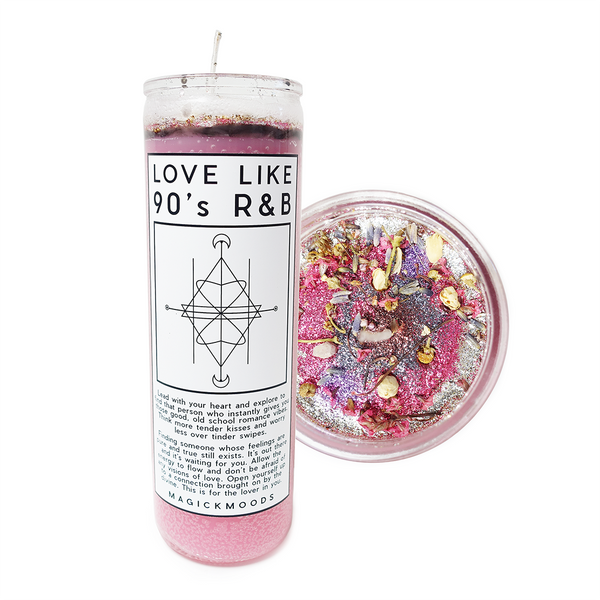 Love Like 90's R&B 7-Day Meditation Candle - PREORDER - Ships by 12/13