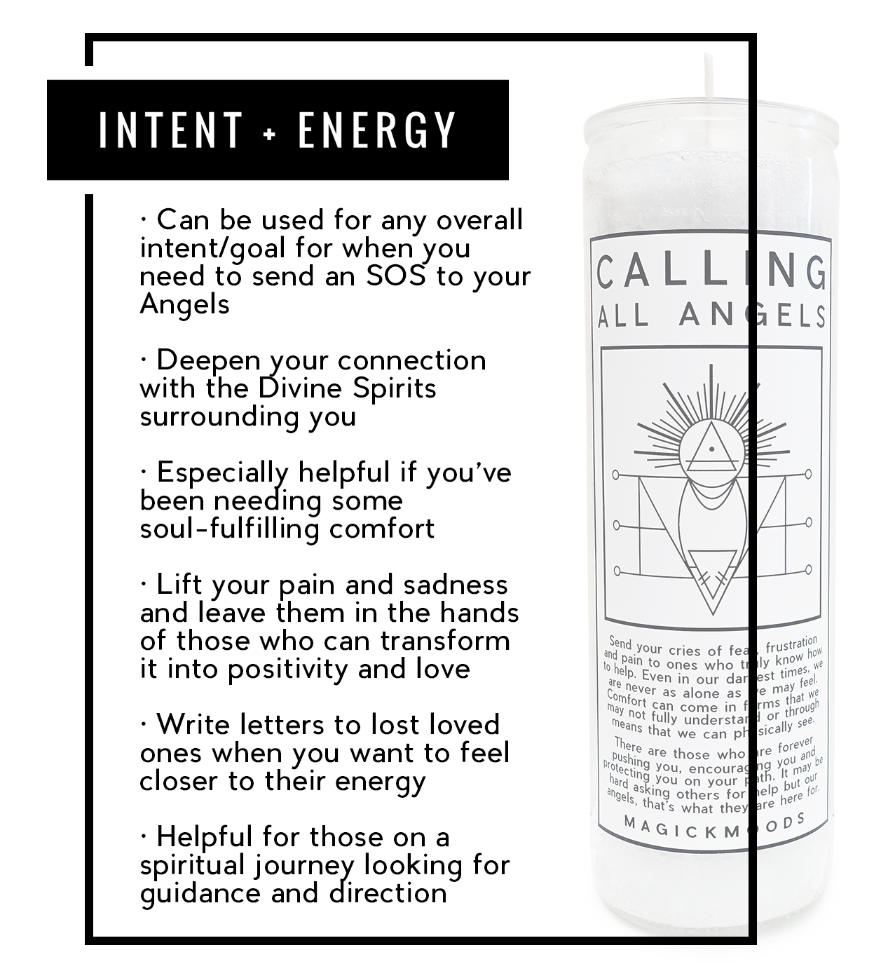 Calling All Angels 7-Day Meditation Candle - PREORDER - Ships by 8/14