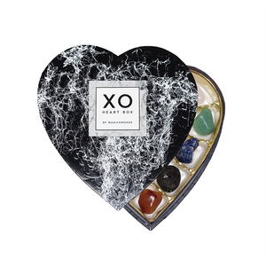 XO Crystal Heart Box *Hand-Marbled Special Edition*