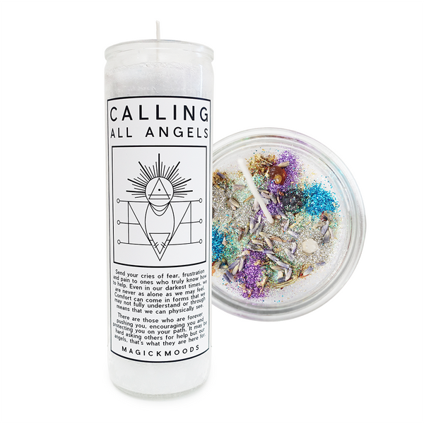 Calling All Angels 7-Day Meditation Candle - PREORDER - Ships by 12/17