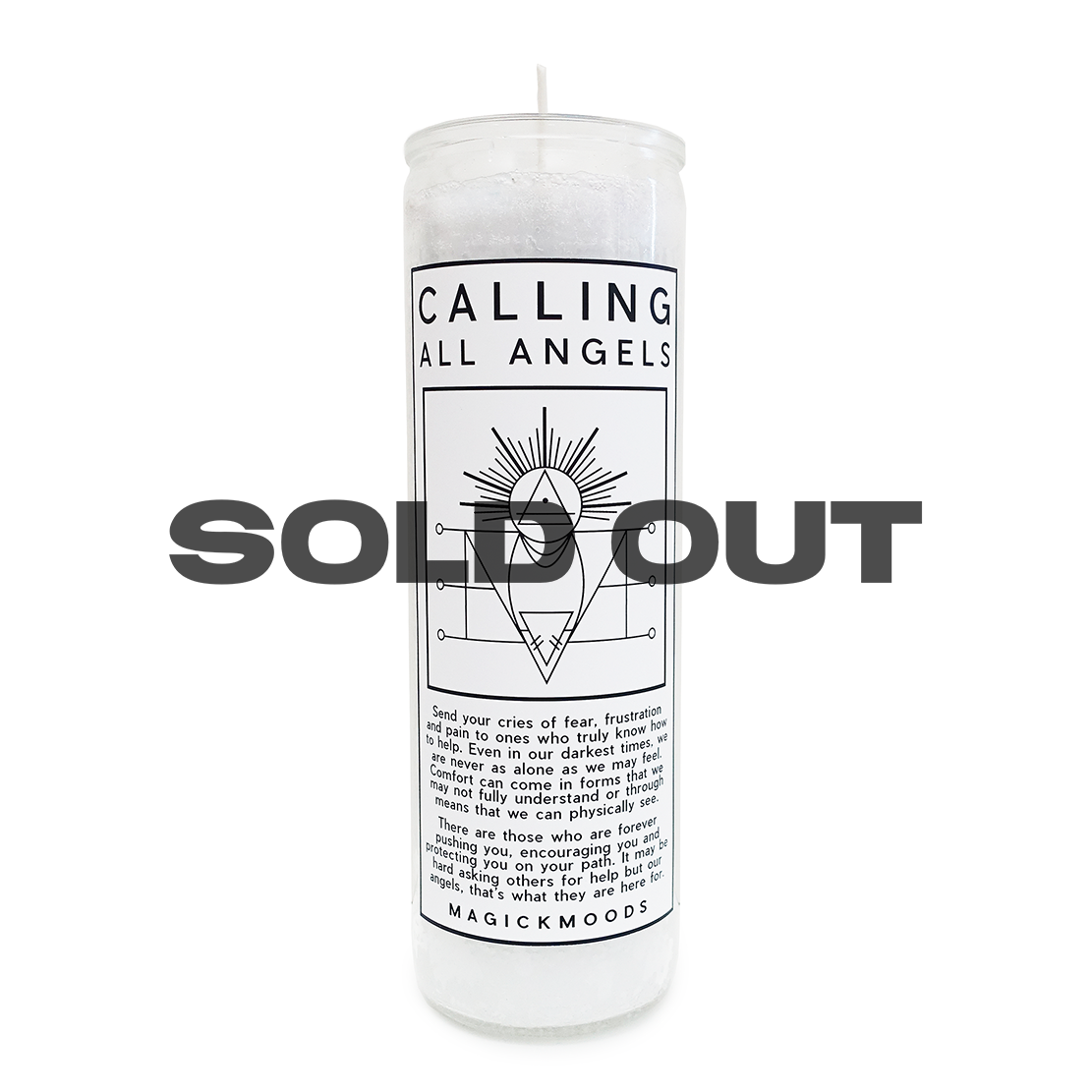 Calling All Angels 7-Day Meditation Candle - PREORDER - Ships by 12/15
