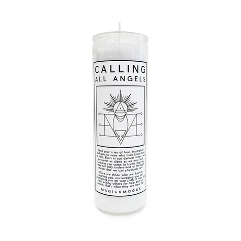 Calling All Angels 7-Day Meditation Candle - PREORDER - Ships by 08/19