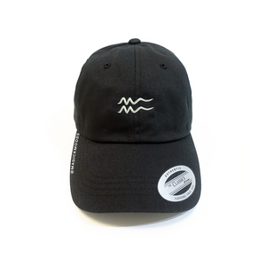 Aquarius Embroidered Dad Hat