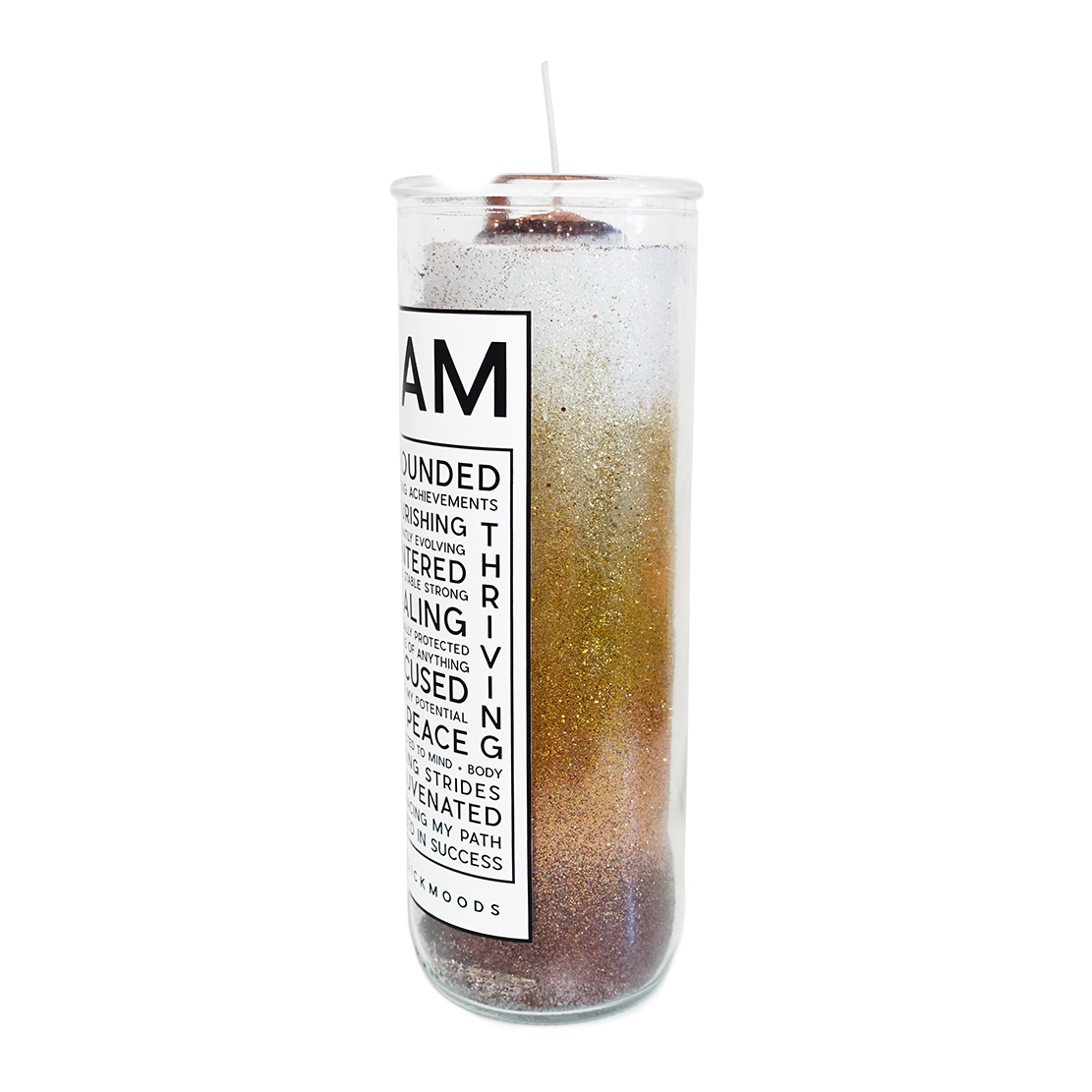 I Am Grounded 7-Day Meditation Candle - PREORDER - Ships by 12/15