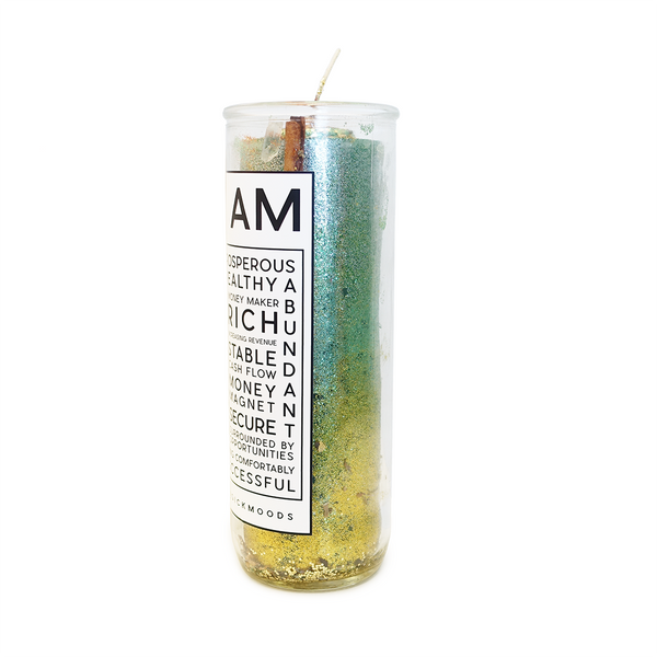 I Am Prosperous 7-Day Meditation Candle - PREORDER - Ships by 9/25