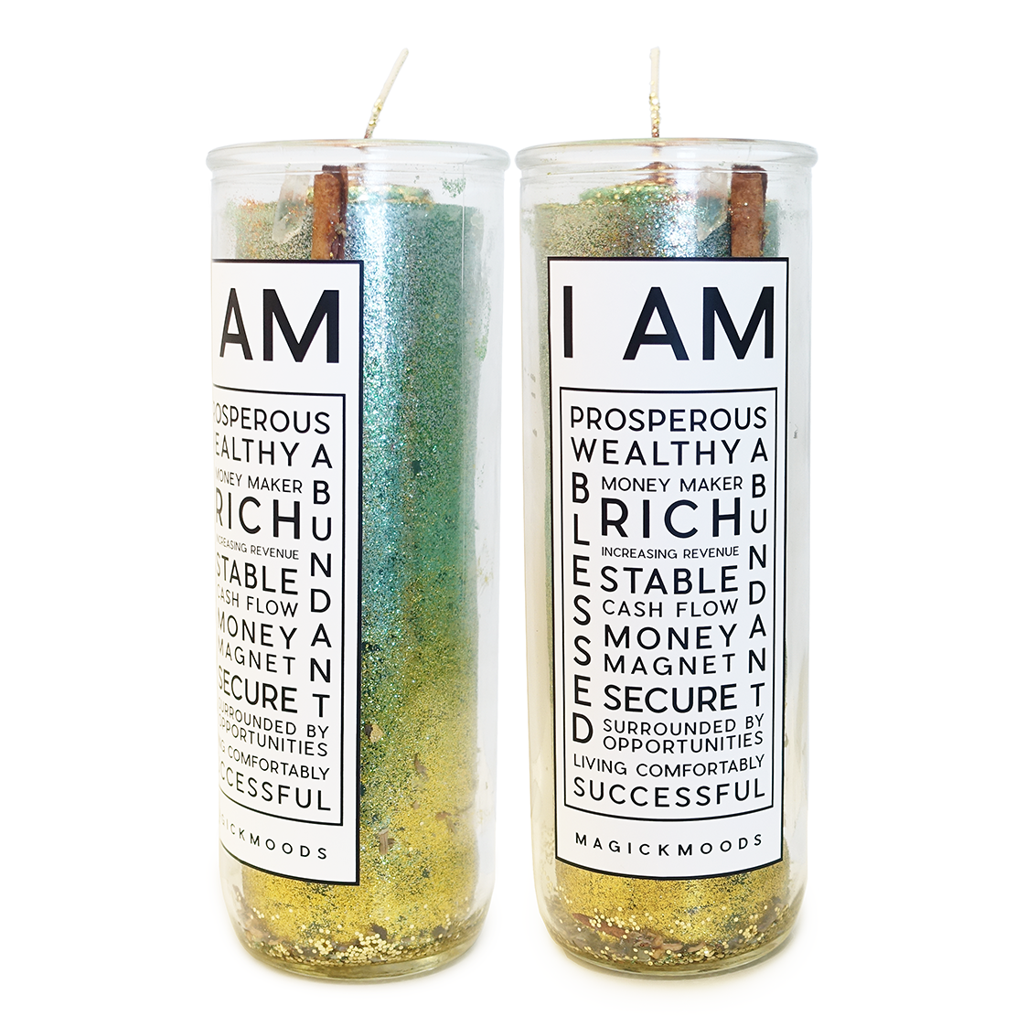 I Am Prosperous 7-Day Meditation Candle - PREORDER - Ships by 8/14
