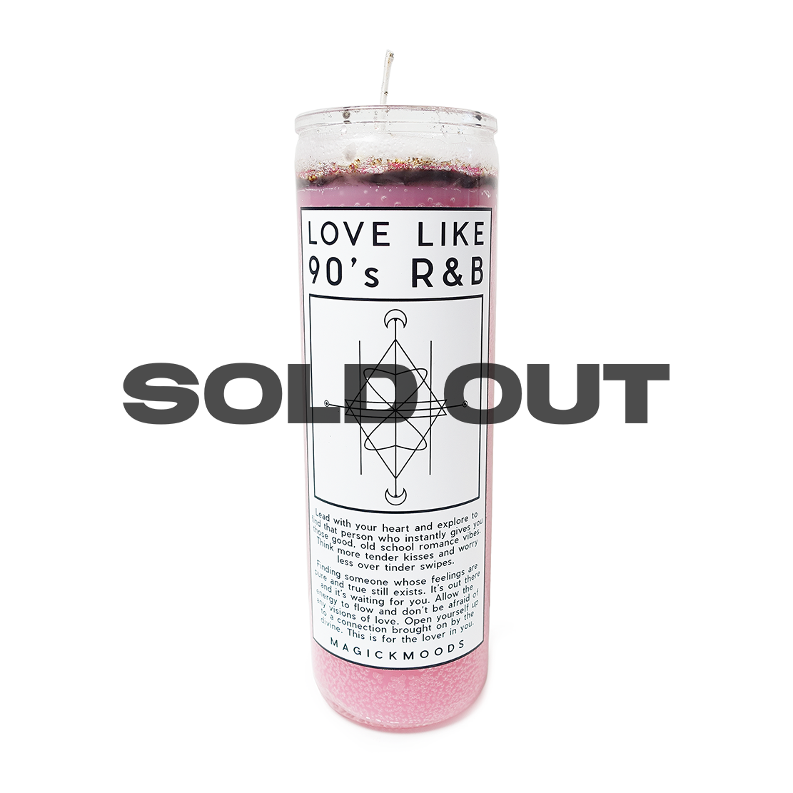 Love Like 90's R&B 7-Day Meditation Candle - PREORDER - Ships by 8/14