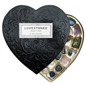 Lovestoned Crystal Heart Box