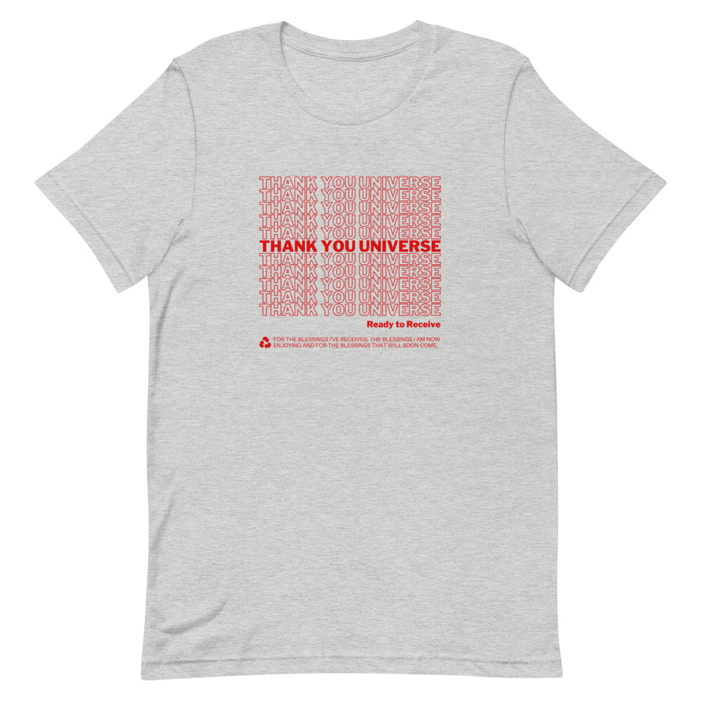 Thank You Universe T-Shirt (Heather Grey) *Ships separately