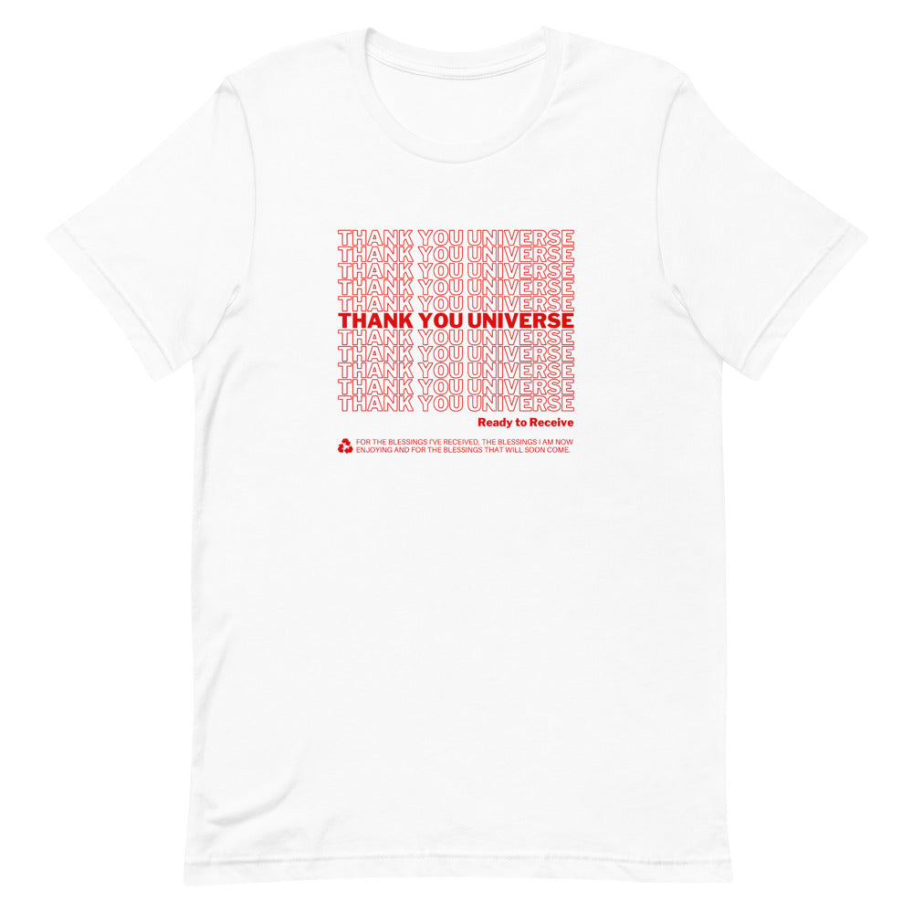 Thank You Universe T-Shirt (White) *Ships separately