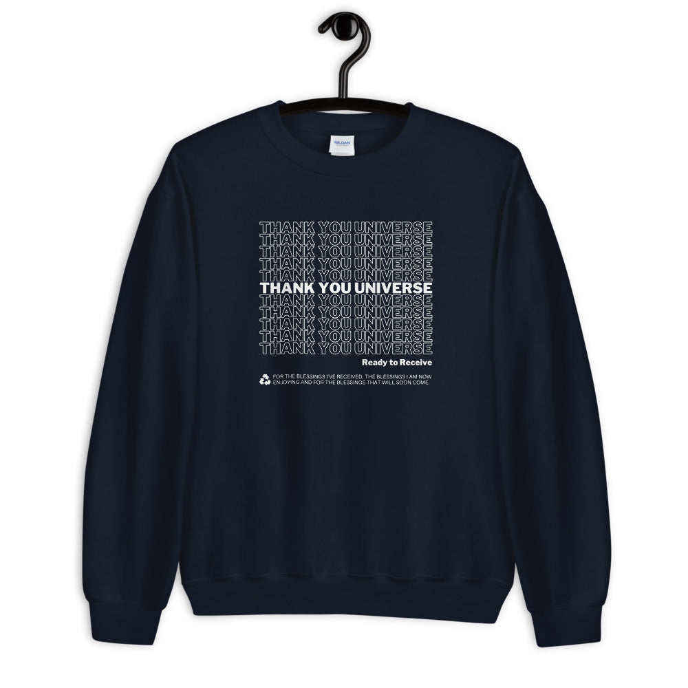 Thank You Universe Sweatshirt (Navy Blue) *Ships separately